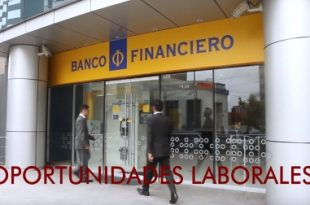 Convocatorias de Trabajo - Banco Financiero 203