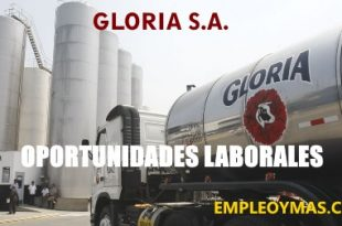 Oportunidades Laborales Gloria 240